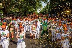 Фестиваль самбы в Берлине
