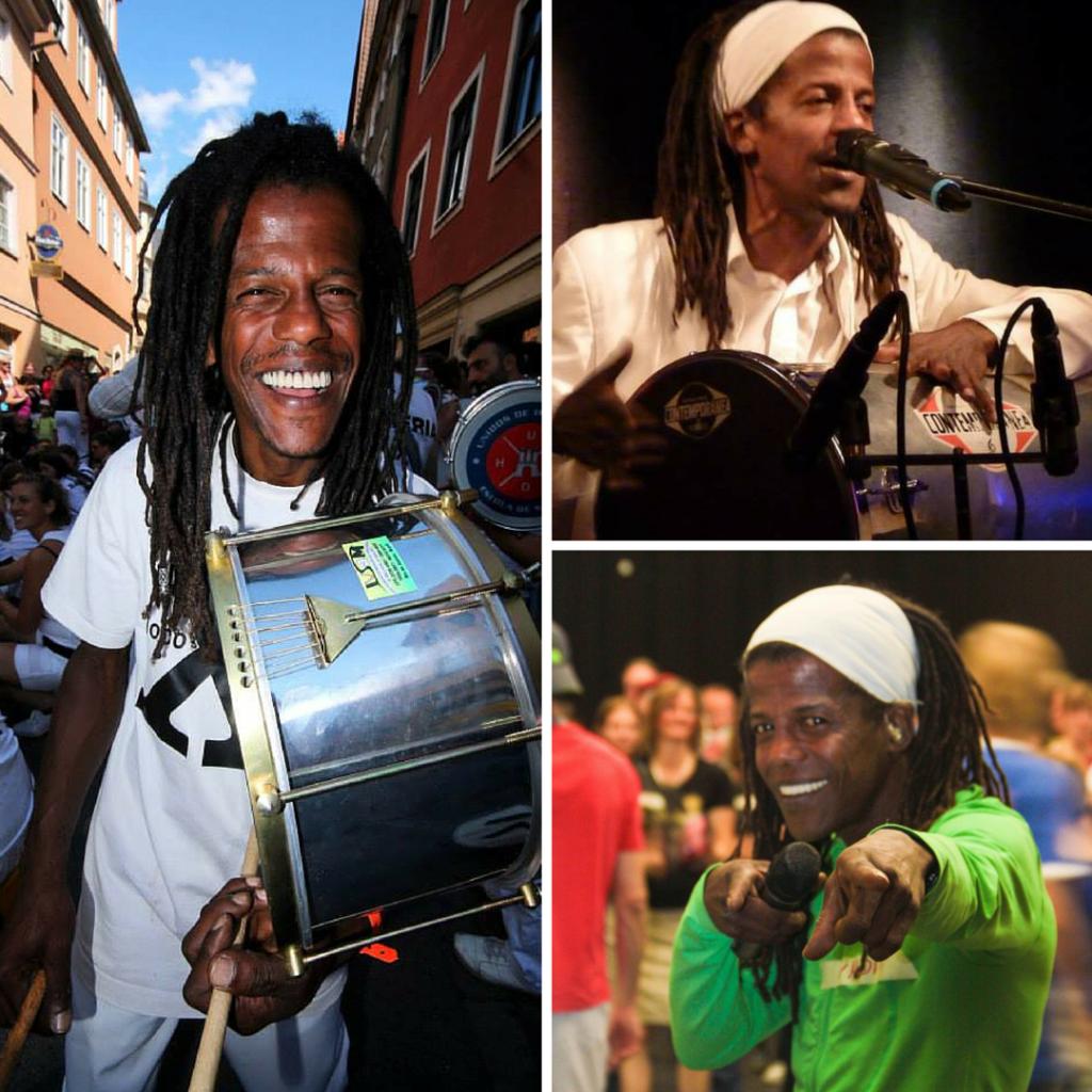 Mestre of the Moscow Samba Festival 2016 Valdir Vieira Dos Santos