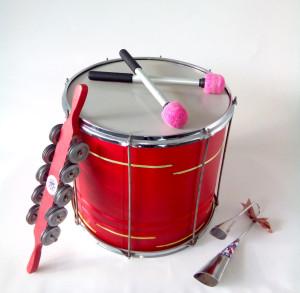 Инструменты для барабанного корпоративного тимбилдинга Samba Real