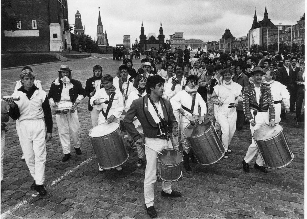 Самба-парад на Красной площади